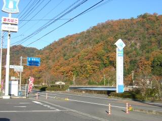 旧・加茂川町の紅葉